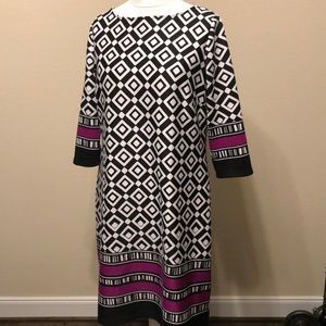 Great work dress.  Black and white Nine West